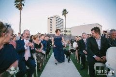 Dog-walking-down-the-aisle-at-wedding