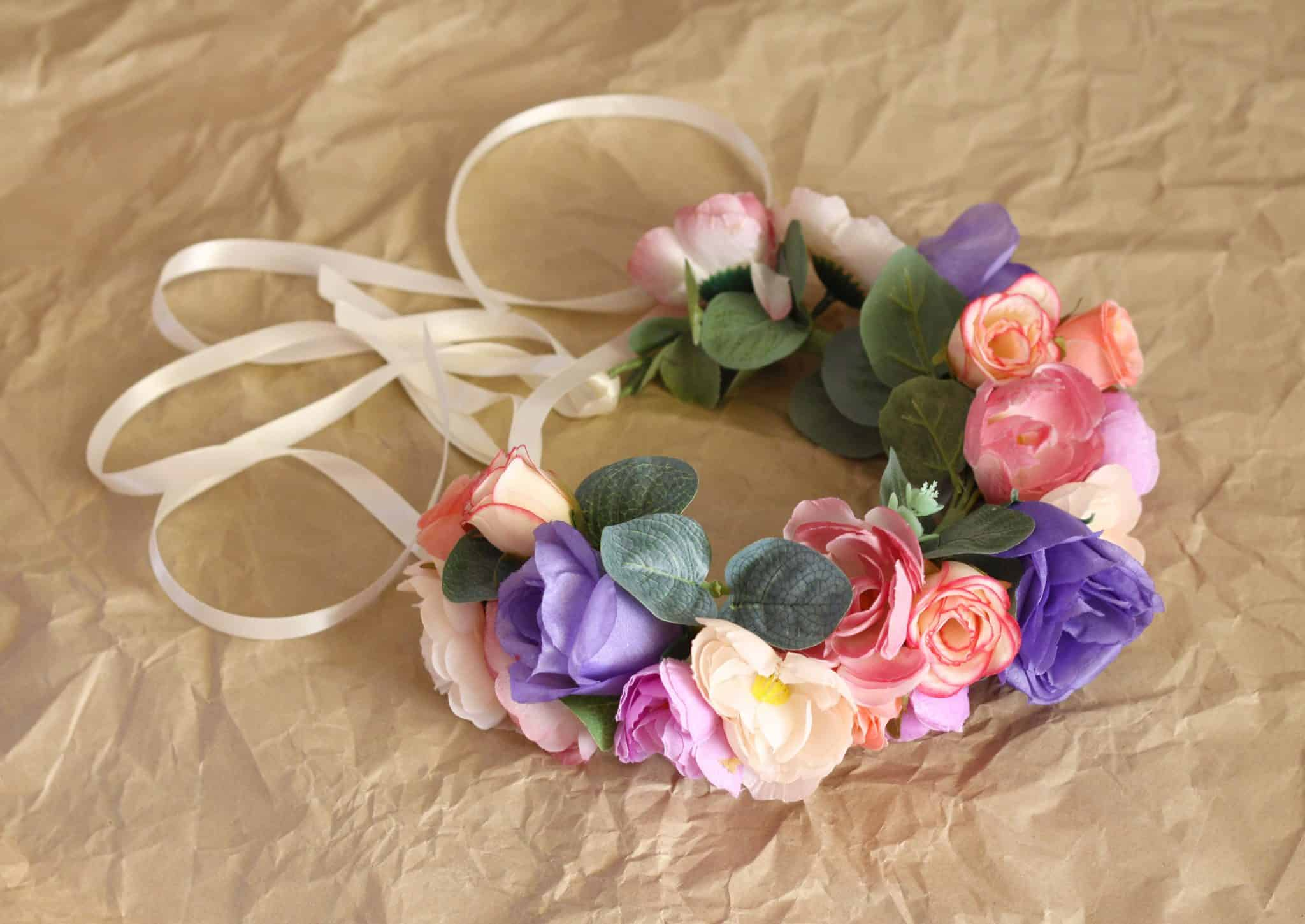 Dogs archives bark and bloom designs flower collars eleanor pretty dog flower collar izmirmasajfo Gallery