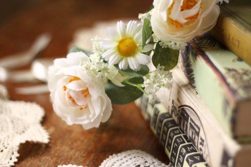 Rustic forest vintage flower crown