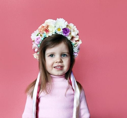 Child Flower Headbands